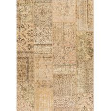 Antalya Sand - Modern sand carpet made of pure virgin wool hand-knotted