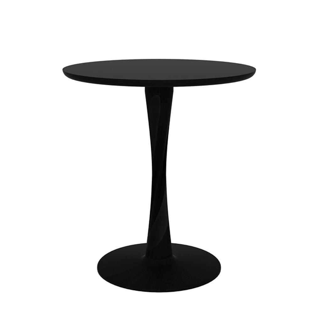 Torsion per bar e ristoranti tavolo fisso in legno per for Tavolo rotondo 70 cm
