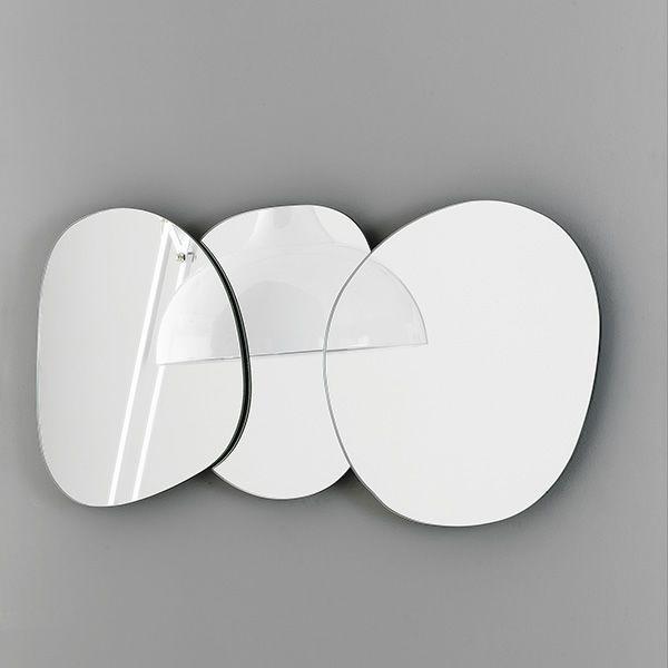 Designer Spiegel ciotolo designer spiegel bontempi casa aus 3 oder 4 modulen