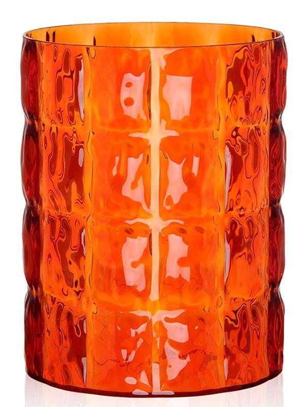 matelass design vase beh lter von kartell aus polymethylmathacrylat verschiedene farben. Black Bedroom Furniture Sets. Home Design Ideas
