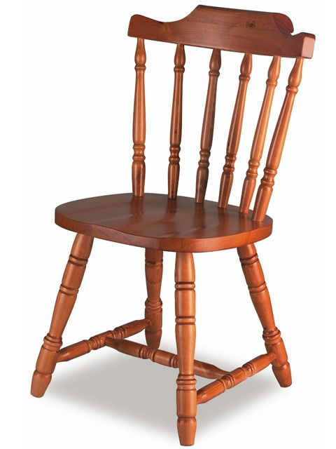 av104 chaise rustique en pin - Chaise Rustique