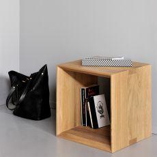 Cube - Tavolino Ethnicraft in legno, diverse finiture e misure disponibili