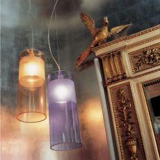 Easy - Lampada a sospensione Kartell in policarbonato, disponibile in diversi colori
