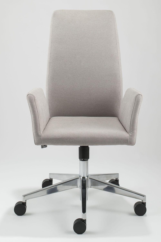 ml509 chefsessel f r b ro voll gepolstert mit hoher r ckenlehne bezug aus stoff oder. Black Bedroom Furniture Sets. Home Design Ideas