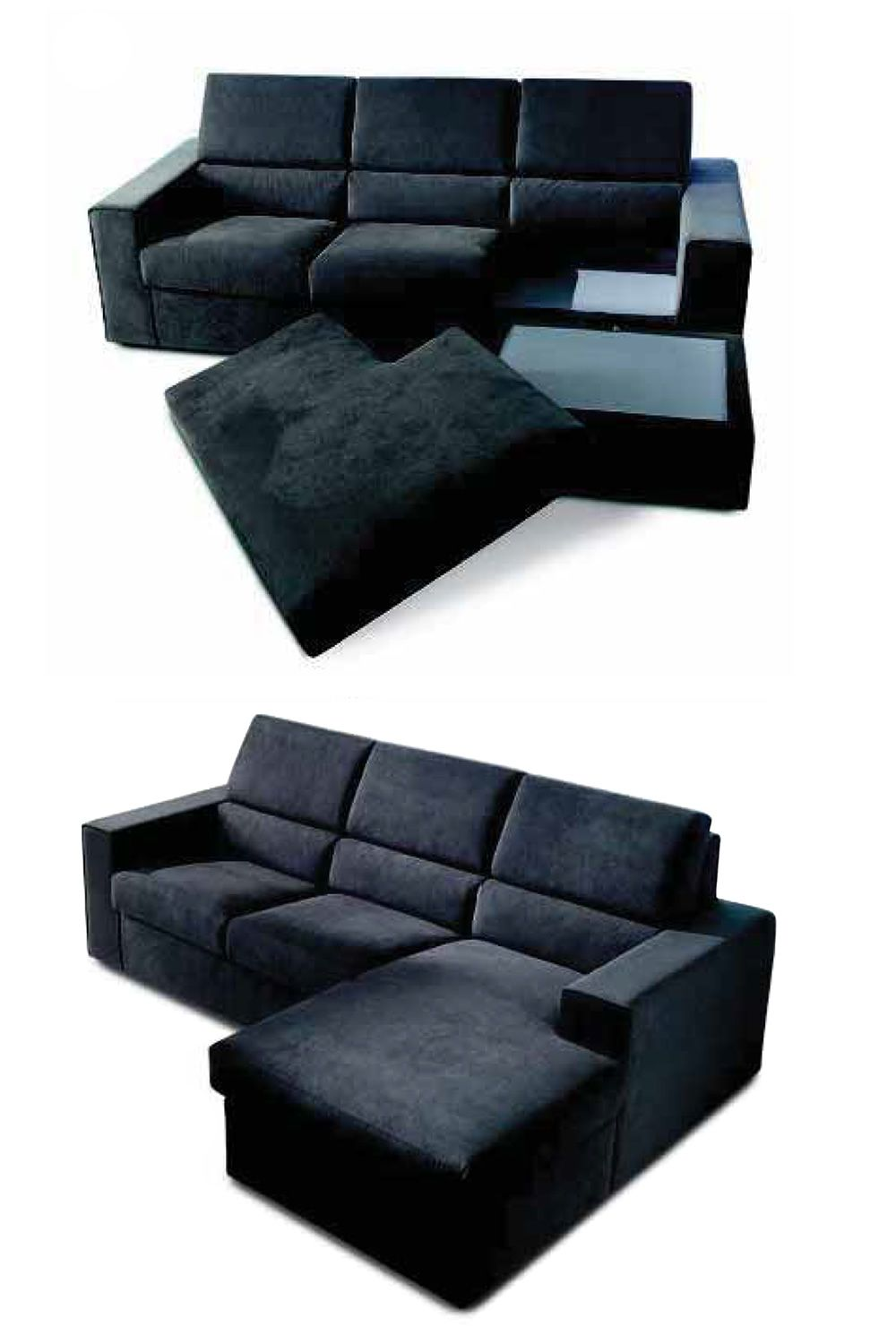 bounty p verstellbares sofa mit chaiselongue ganz. Black Bedroom Furniture Sets. Home Design Ideas