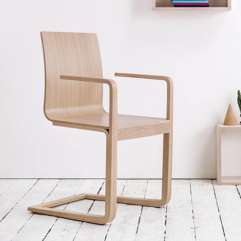 Mojo silla ton con reposabrazos de madera con asiento for Sillas con reposabrazos