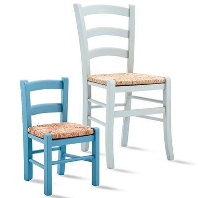 Baby 125 y chaise rustique pour enfants en bois et - Chaise rustique bois et paille ...