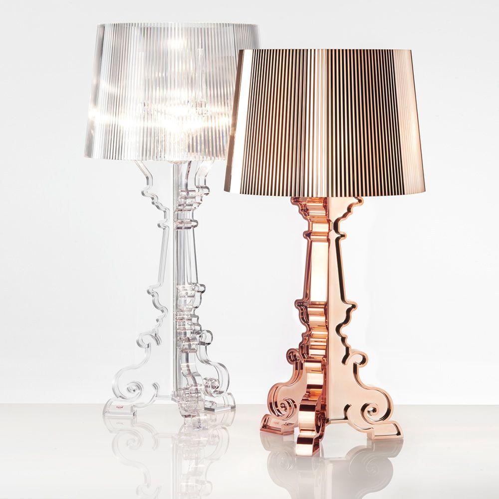 Bourgie Tischlampe Von Kartell Aus Polycarbonat Und Abs