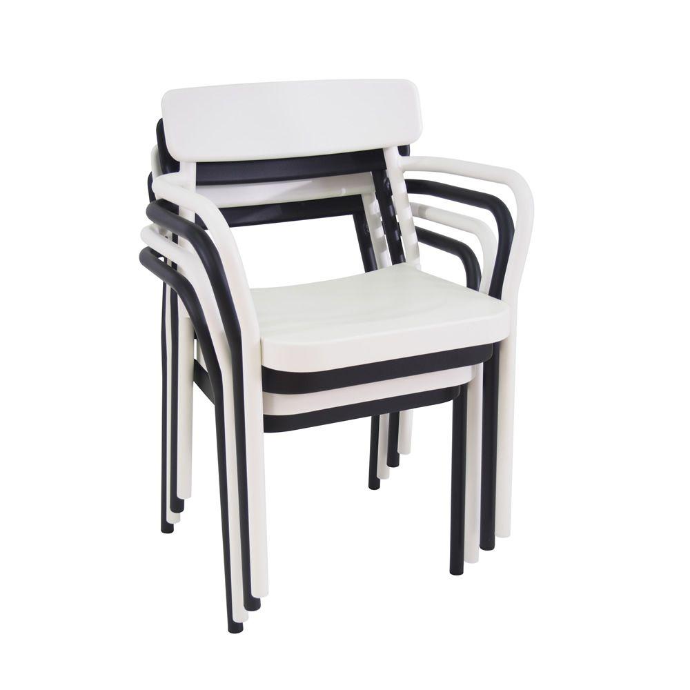 Gartenstühle stapelbar  Grace P: Metallsessel EMU aus Aluminium, stapelbar, auch für Garten ...