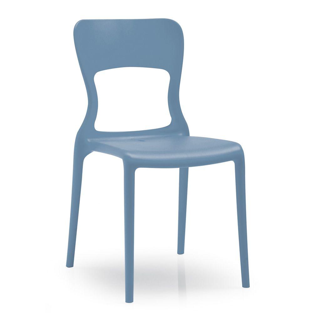 312 chaise empilable en polypropyl ne pour ext rieur. Black Bedroom Furniture Sets. Home Design Ideas