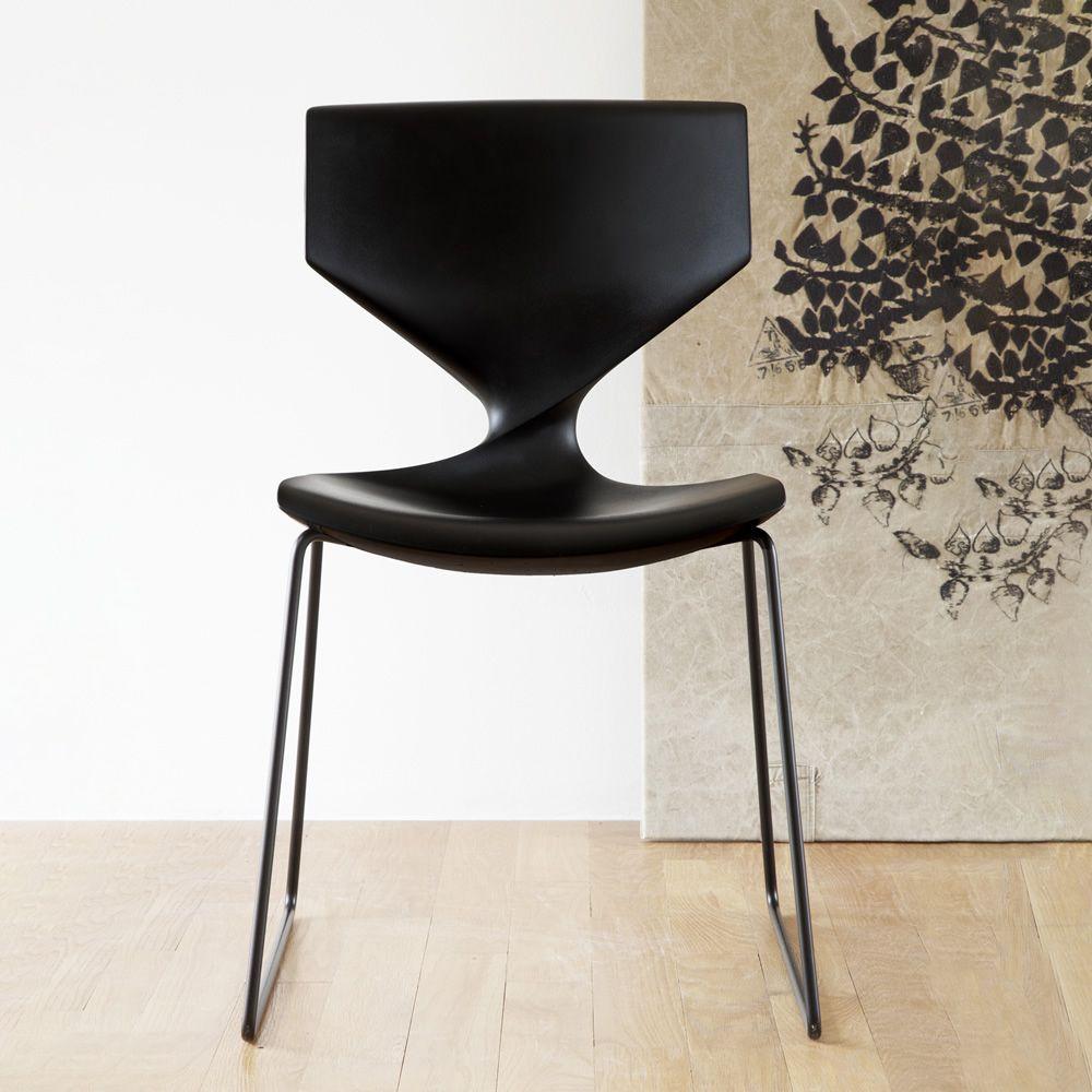Quo soft touch - Stuhl Tonon aus Metall, mit Sitz aus Polyurethan ...