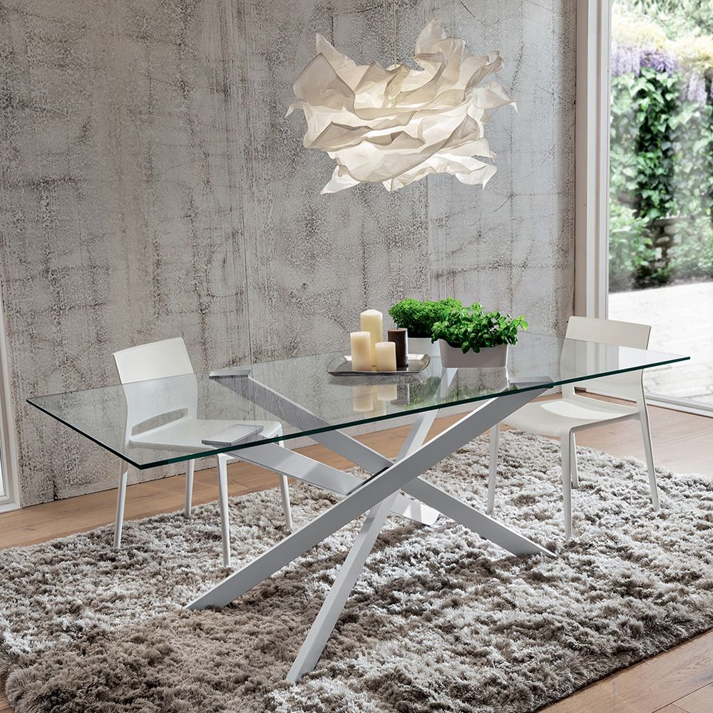 Pa126 metal table with 170x100 or 200x100 cm top for Table 200x100