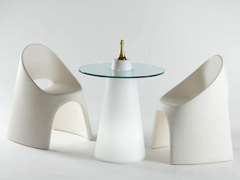 Am lie stapelstuhl slide aus polyethylen verschiedene for Design stuhle weiss