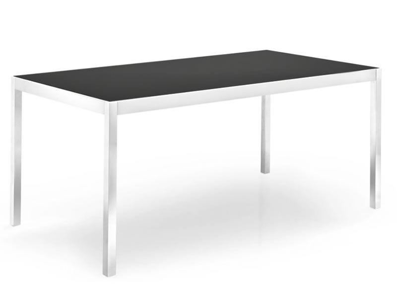 CS4066-VR Happy - Tavolo Calligaris in alluminio, piano vetro, 120 ...