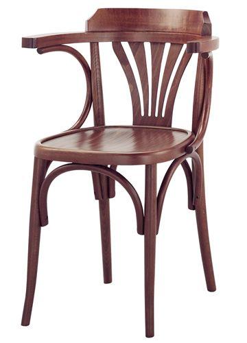 Se600 sedia viennese in legno diverse tinte e sedute disponibili - Tavoli design famosi ...