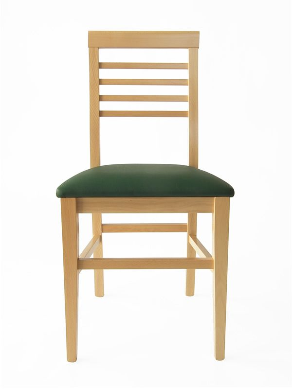 Mu16 chaise en bois disponible en diff rentes teintes - Assise de chaise en bois ...