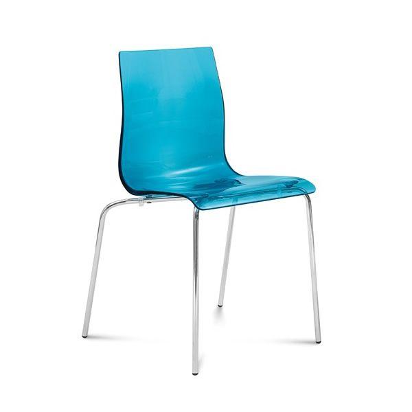 gel b domitalia metal chair methacrylate seat stackable sediarreda online sale. Black Bedroom Furniture Sets. Home Design Ideas
