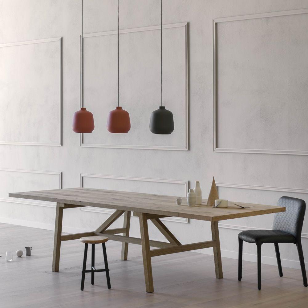 Frattino tavolo rettangolare miniforms in rovere fisso for Tavolo rettangolare