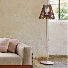 Lume Iron.f - Lampada da terra Colico Design in acciaio, diversi colori disponibili