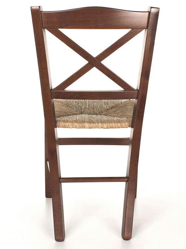 Mu83 chaise rustique en bois diff rentes teintes for Assise de chaise en bois