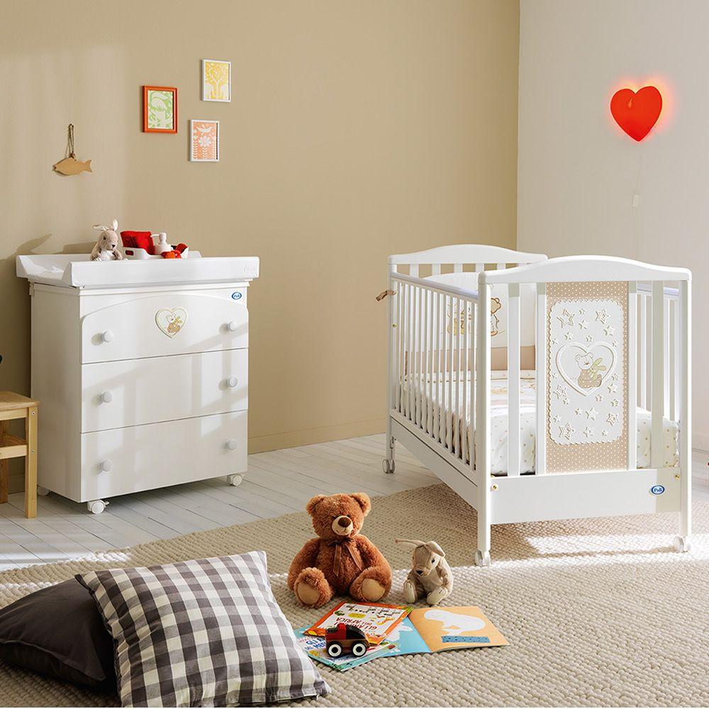 belle - lettino pali in legno con materasso, guanciale e set letto ... - Lettino Pali E Materasso