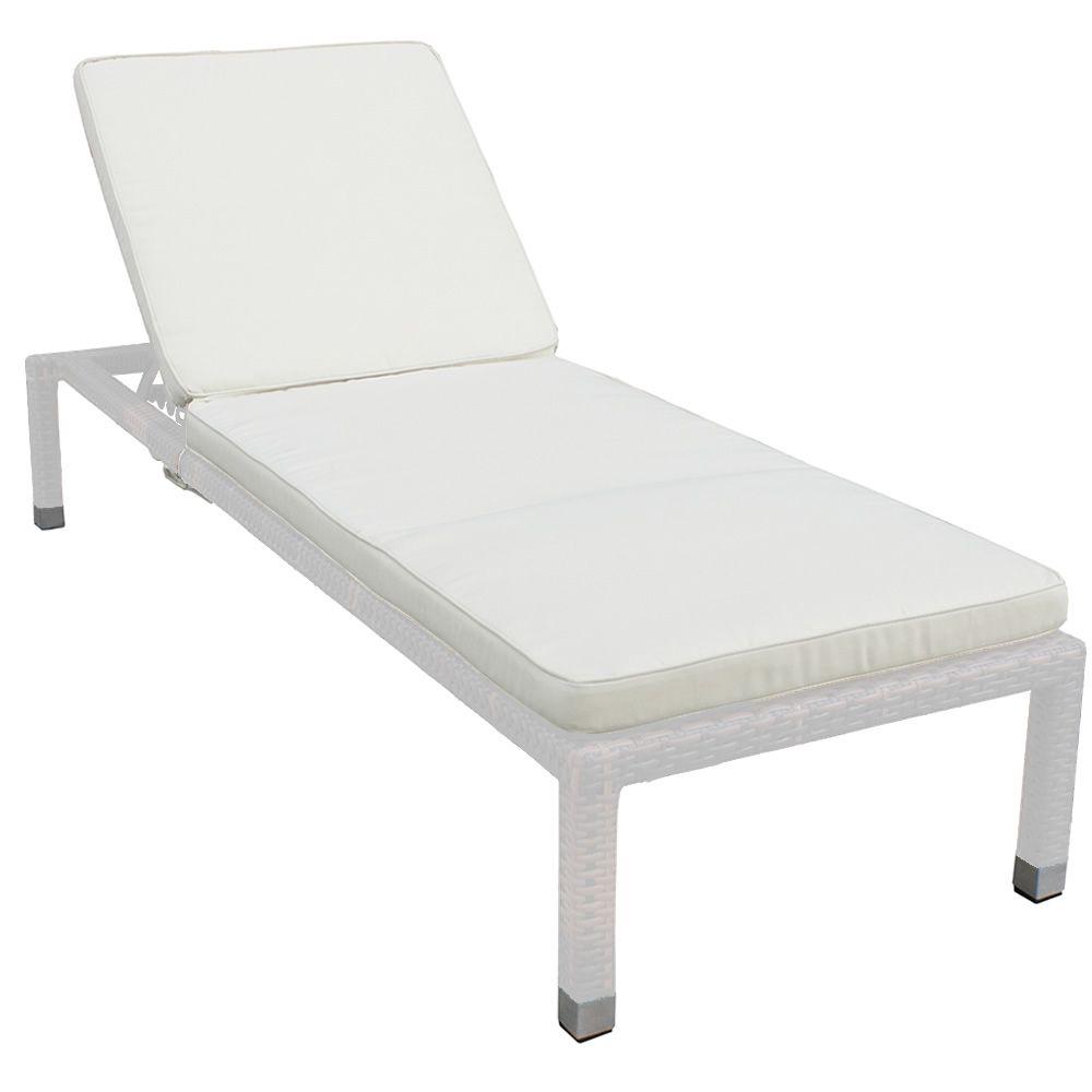 Sam chaise longue de jardin en aluminium et imitation for Chaise longue speciale