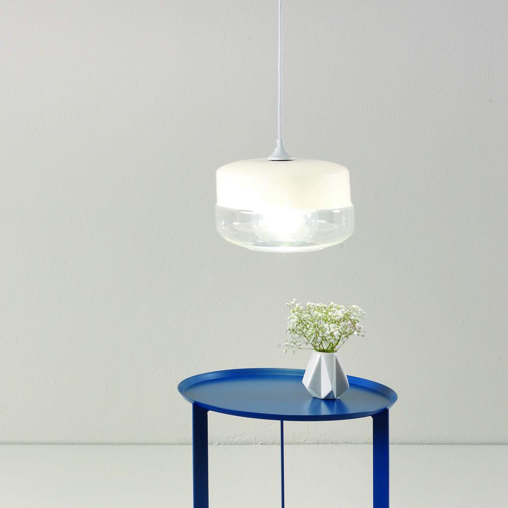 Ausel glass promo lampe suspension design en verre for Lampe design suspension