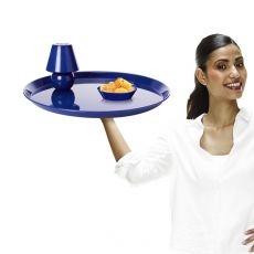SnackLight - Fatboy design tray in metal, with battery lamp, available in several colours, also for outdoor