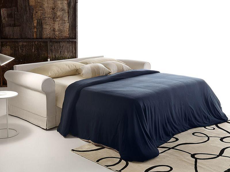 Emilia divano letto a 2 3 o 3 posti xl rivestimento in - Divano letto aperto ...