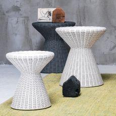 Bolla 12-13 - Tavolino Gervasoni, in midollino, diverse misure disponibili