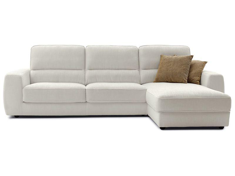 Tommy chaise longue divano moderno a 1 posto 2 posti o - Divano due posti con chaise longue ...