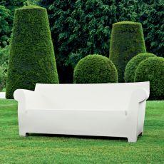Bubble Club Sofa - Divano Kartell di design, per giardino, in polietilene, 2 posti maxi