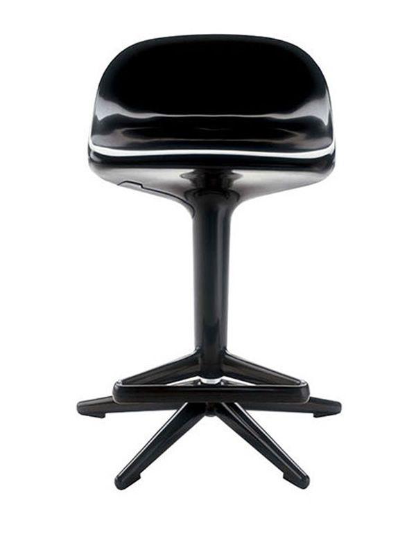 spoon design barhocker von kartell mit verstellbarer h he aus polypropylen verschiedene. Black Bedroom Furniture Sets. Home Design Ideas