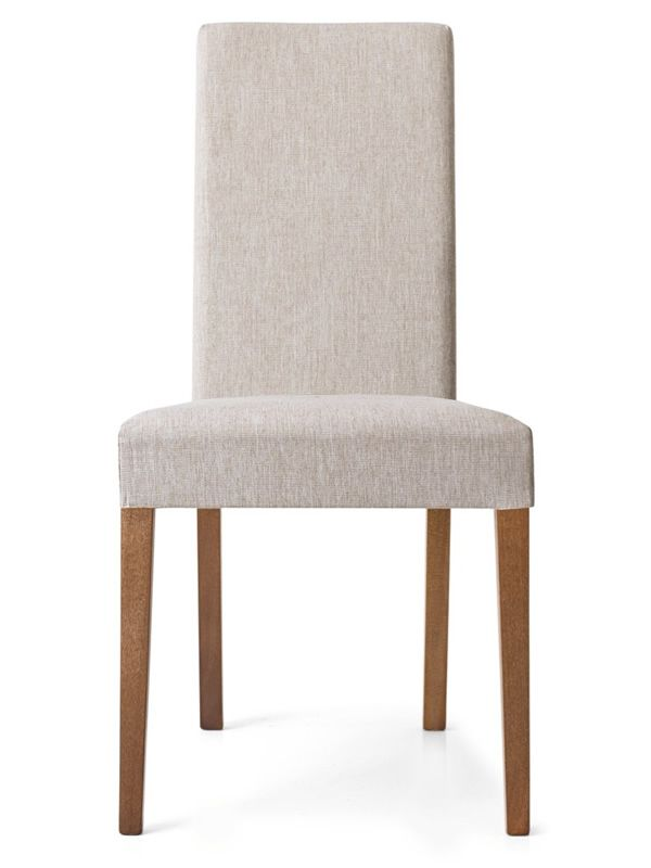 CS260 Latina Calligaris Chair In Wood Fabric Seat In