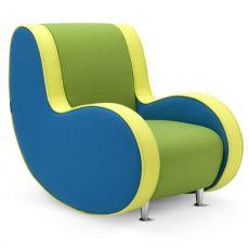 gepolsterte sessel um das wohnzimmer zu personalisieren. Black Bedroom Furniture Sets. Home Design Ideas