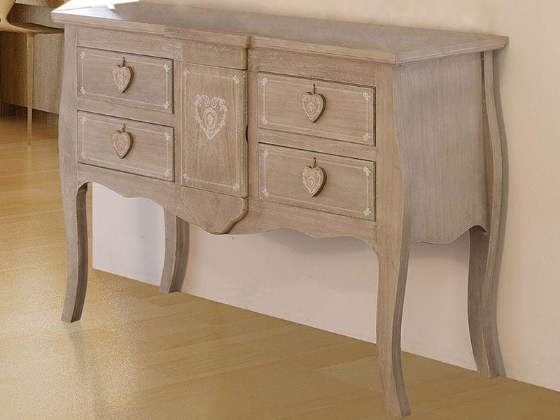 lachea commode shabby chic en bois sediarreda. Black Bedroom Furniture Sets. Home Design Ideas