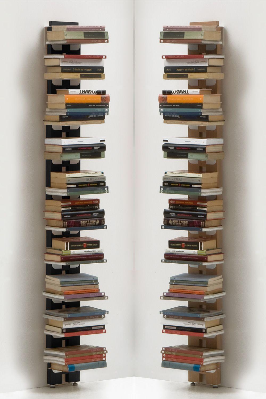 Zia ortensia p libreria di design da terra fissata a for Arredamento di design naturale