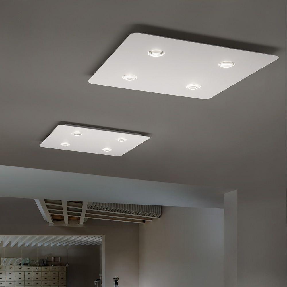 Frozen lampada a soffitto di design in metallo led - Lampade da soffitto per bagno ...