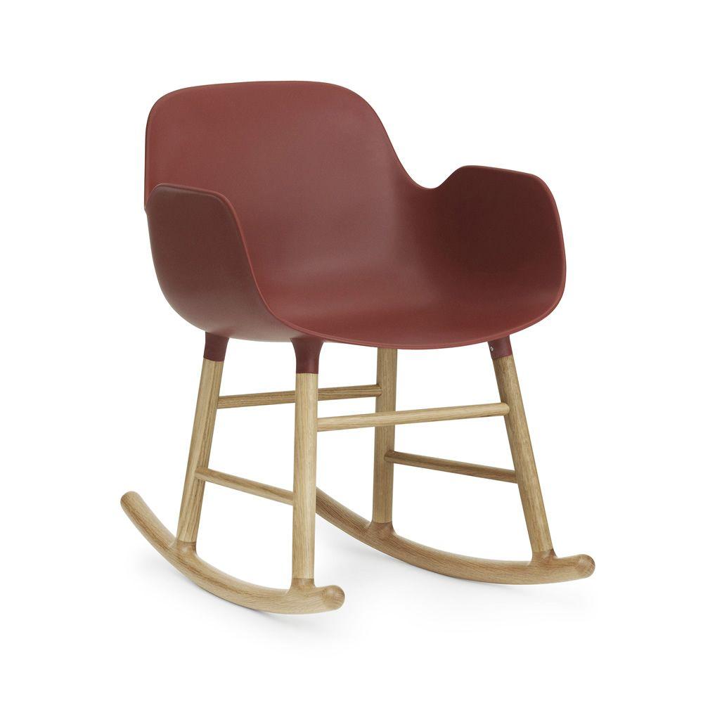 Form r sedia a dondolo normann copenhagen in legno - Dondolo con seduta ...