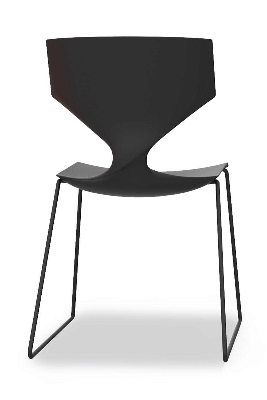 Quo soft touch: Stuhl Tonon aus Metall, mit Sitz aus Polyurethan ...