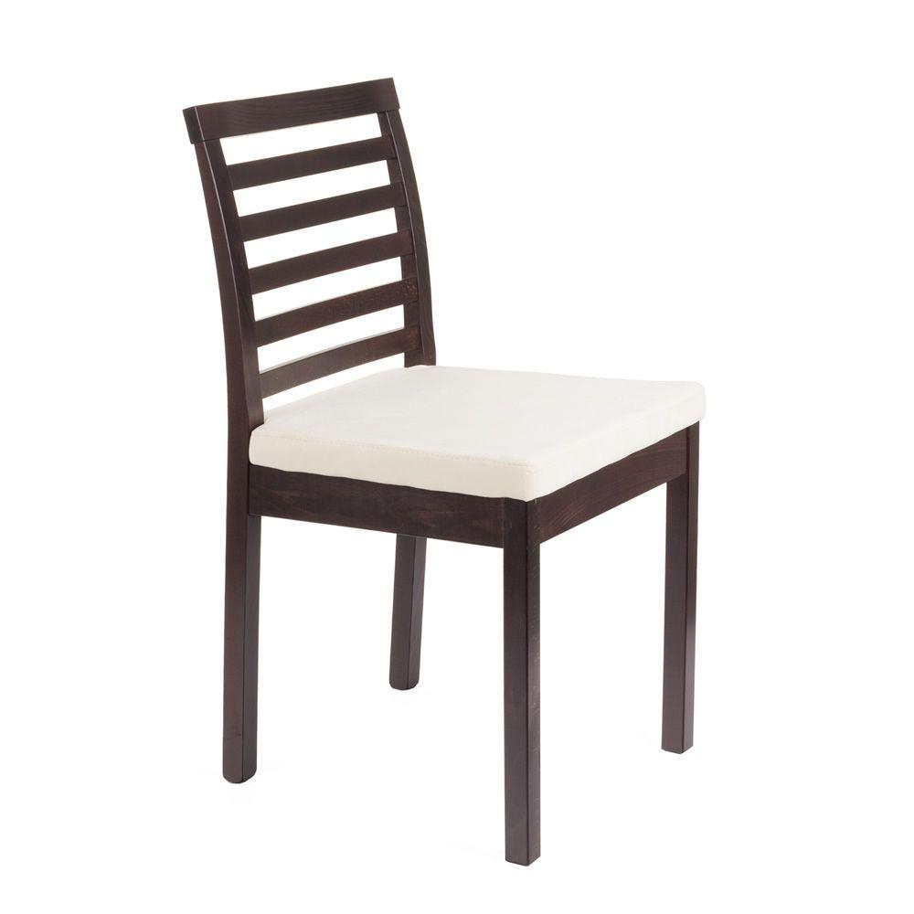 mu21 chaise moderne en bois assise rembourr e plusieurs teintes et rev tements disponibles. Black Bedroom Furniture Sets. Home Design Ideas
