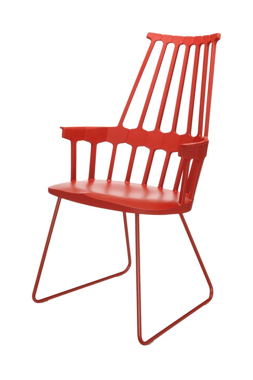 Comback 5950 sedia kartell di design struttura a slitta - Sedia di design ...
