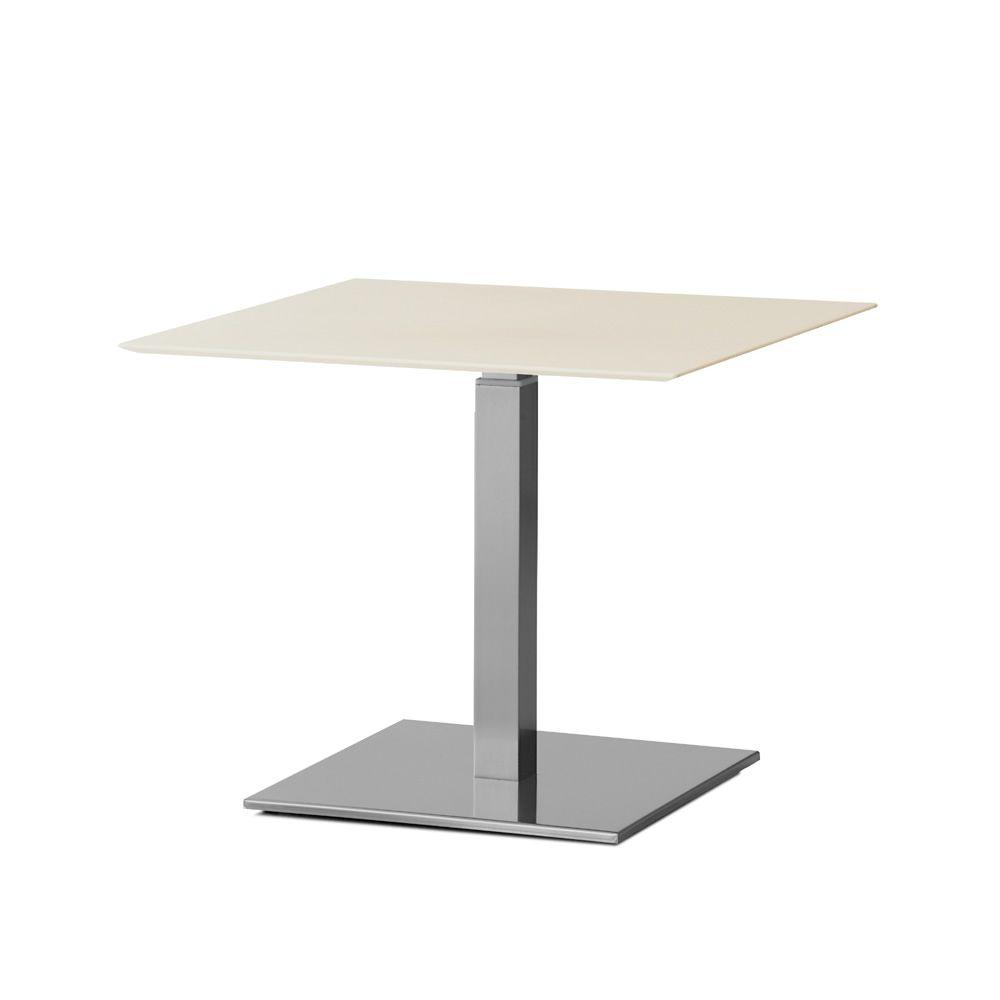 Inox 4402h per bar e ristoranti basamento in metallo per bar o ristorante con altezza - Tavolo regolabile in altezza ...