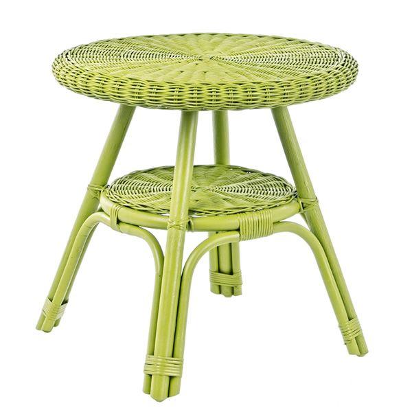 Lario sill n de rat n en varios colores con coj n tambi n con mesita para jard n sediarreda - Mesa jardin plastico verde ...