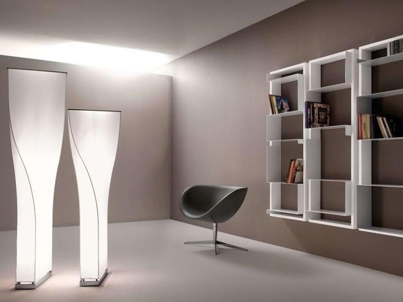 Twisty lampada design da terra di tonon in metallo e - Lampade di design da terra ...