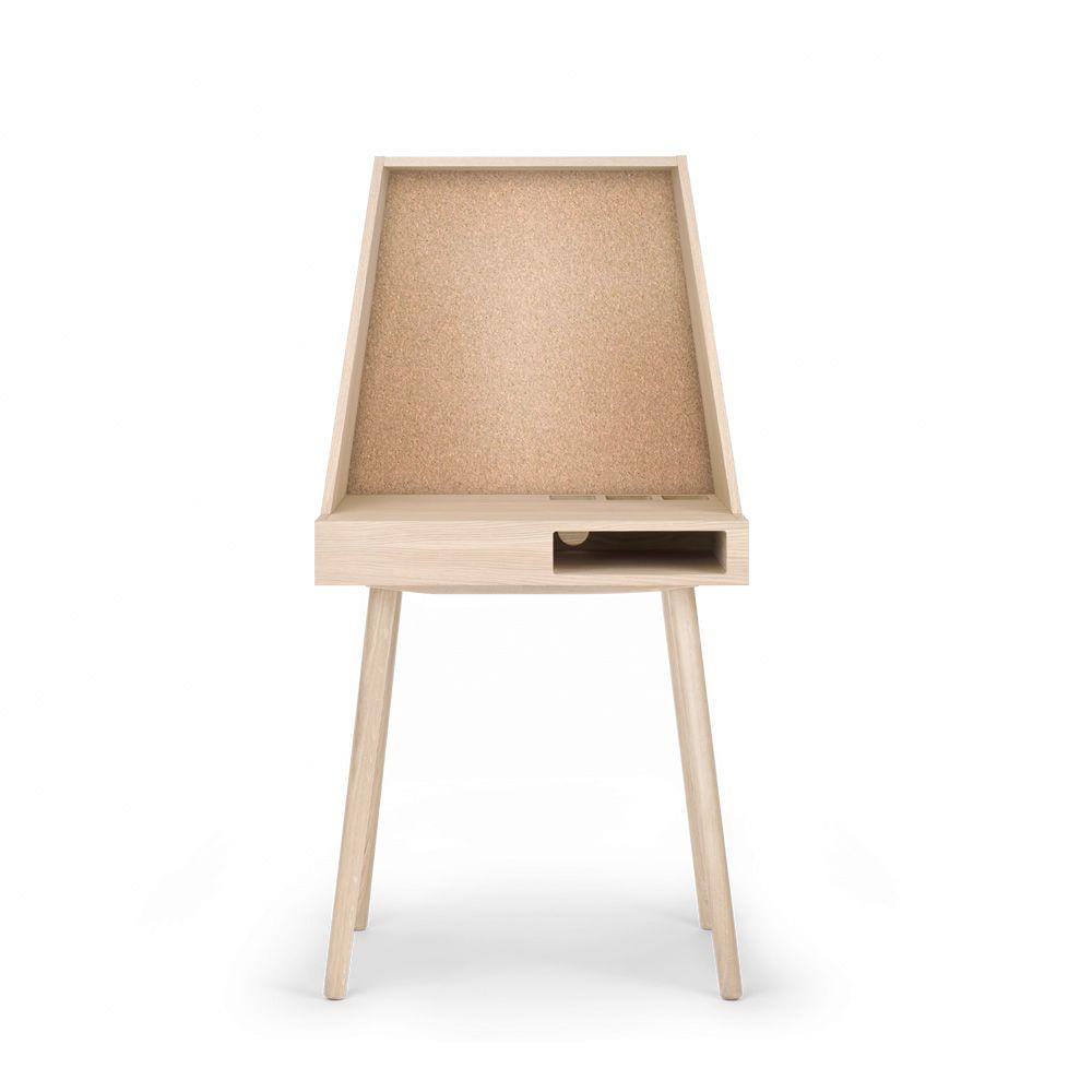 vilfred bureau en ch ne avec compartiments sediarreda. Black Bedroom Furniture Sets. Home Design Ideas