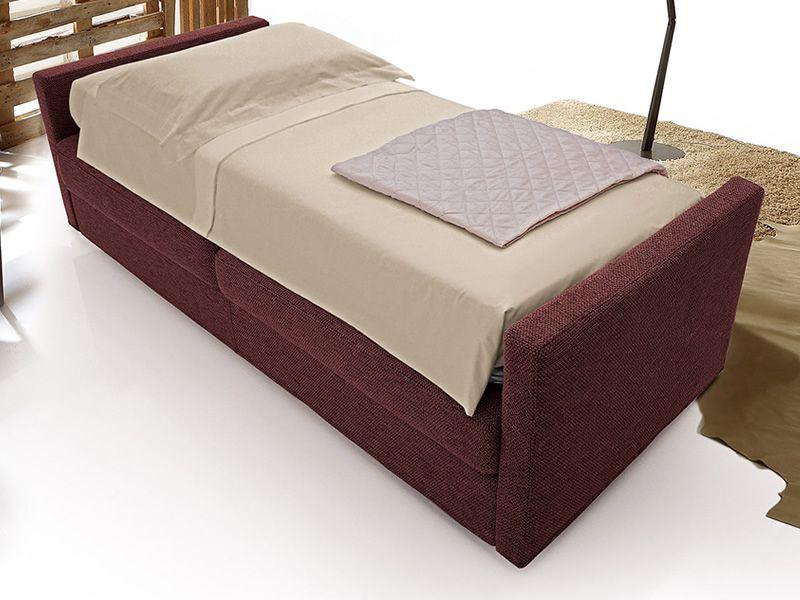 Toscana canap lit 3 places avec sommier tournant en for Canape lit en anglais
