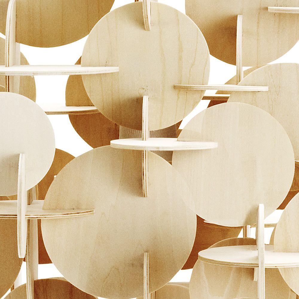 bau l mpara de suspensi n normann copenhagen de madera. Black Bedroom Furniture Sets. Home Design Ideas