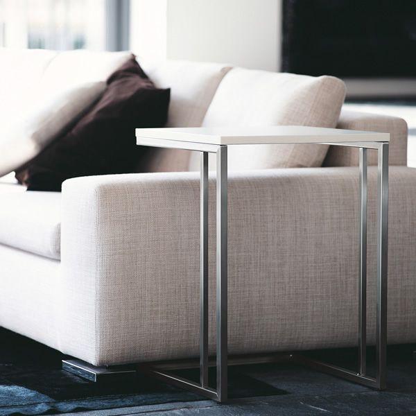 Side table tavolino pedrali in metallo con piano in - Tavolino divano ...