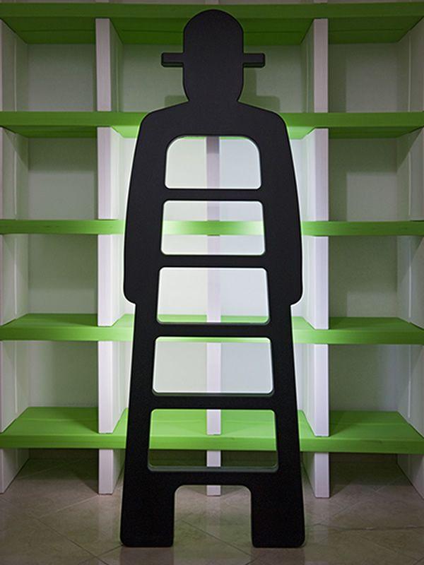 mr gi designer leiter aus polyethylen verschiedene vorr tige farben auch f r garten oder mit. Black Bedroom Furniture Sets. Home Design Ideas